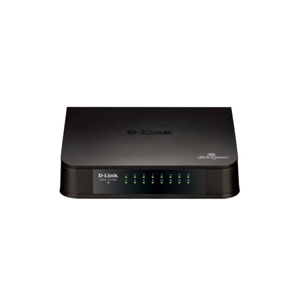 DES-1016A 16-port 10/100 Switch