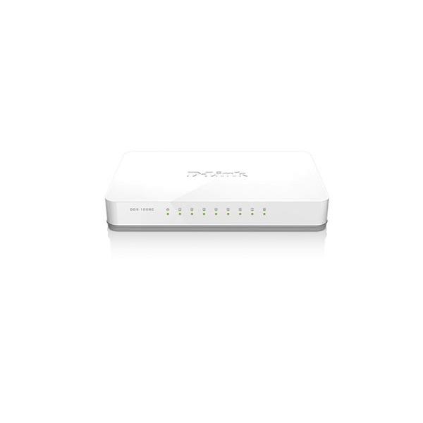 DGS-1008C 8-Port 10/100/1000 Mbps Unmanaged Switch